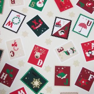 *NEW* Christmas - Stamps - Cream