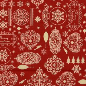 *NEW* Christmas - Festive Wishes - Red