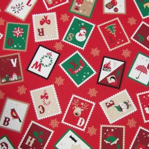 Christmas - Stamps - Red