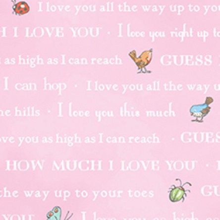 Guess How Much I Love You - Bedtime Story - Pink