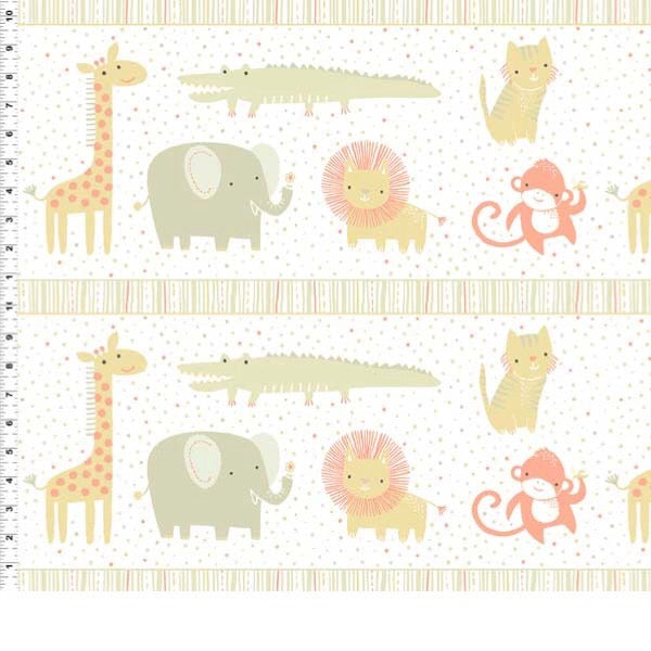 *NEW* Safari Sweet 2 - Border Print - Khaki