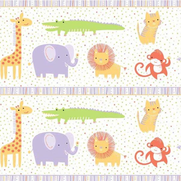 *NEW* Safari Sweet 2 - Border Print - Purple