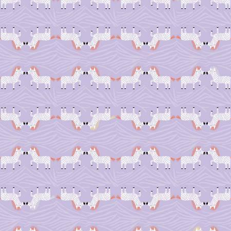 Safari Sweet 2 - Purple - Fat Quarter Pack (4)