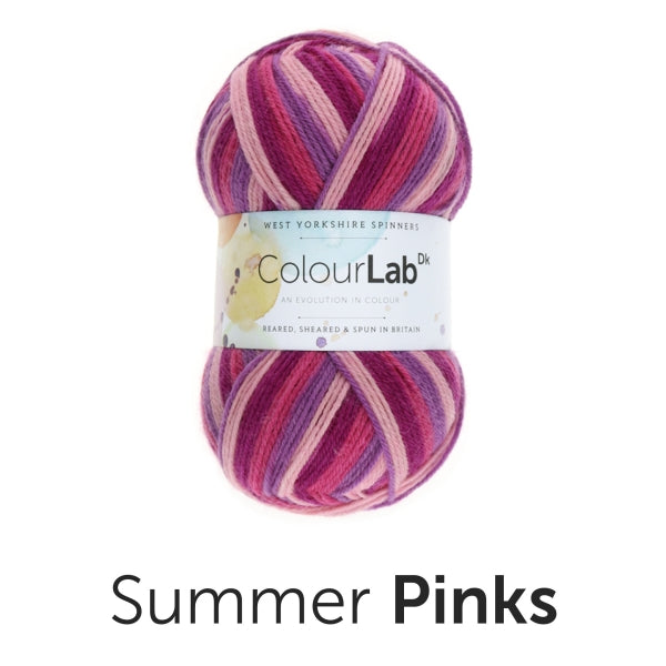 Colour Lab - DK - Summer Pinks