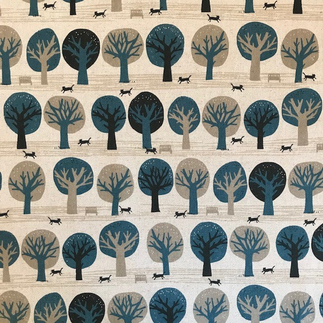 Trees - Cotton / Linen Flax