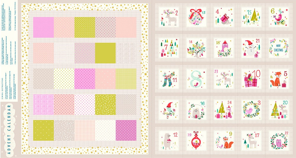 *NEW* Joli Noel - Advent Calendar Panel
