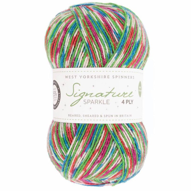 *NEW* Signature 4ply - Fairy Lights Sparkle *Limited Edition Christmas Yarn*