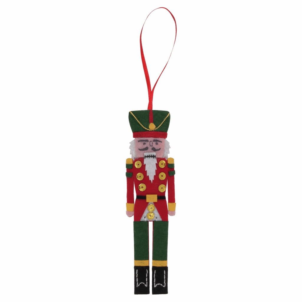 *NEW* Felt Christmas Decoration Kit - Nutcracker
