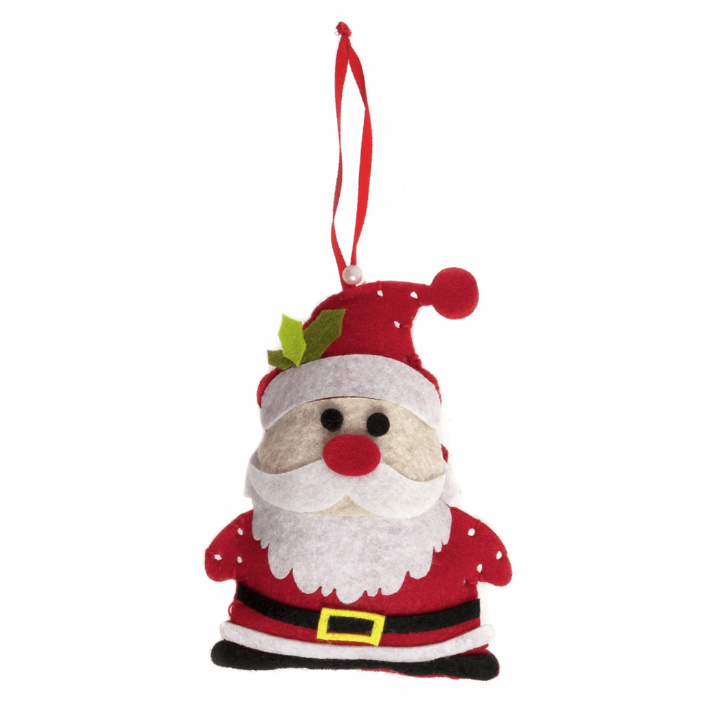 *NEW* Felt Christmas Decoration Kit - Santa