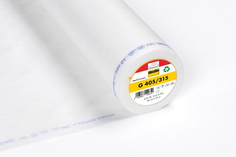 Vlieseline Fusible Interfacing - G405/315 - Medium - White
