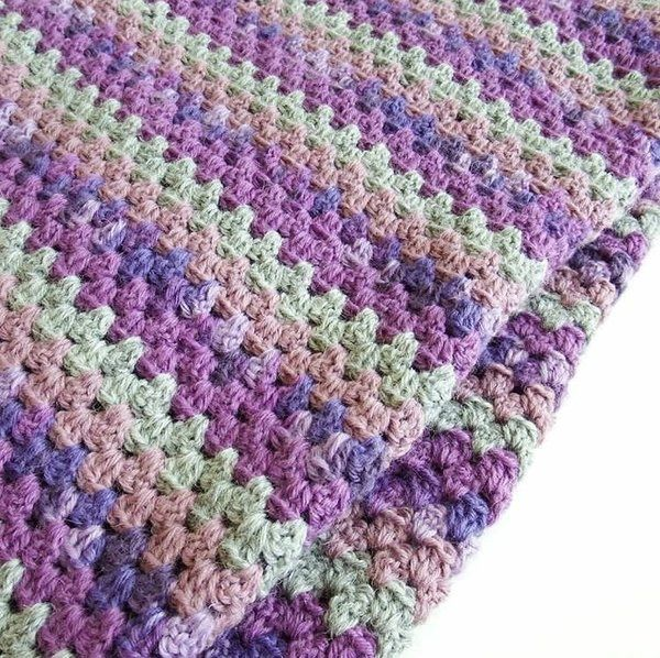 26th January - Beginners Crochet - Granny Stripe - Saturday