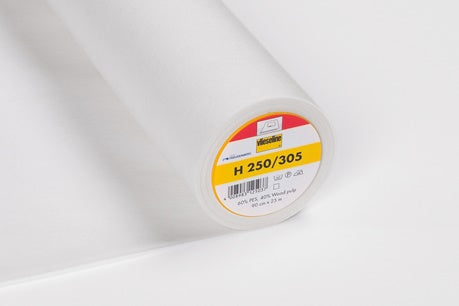 Vlieseline Fusible Interfacing - H250/305 - Firm - White