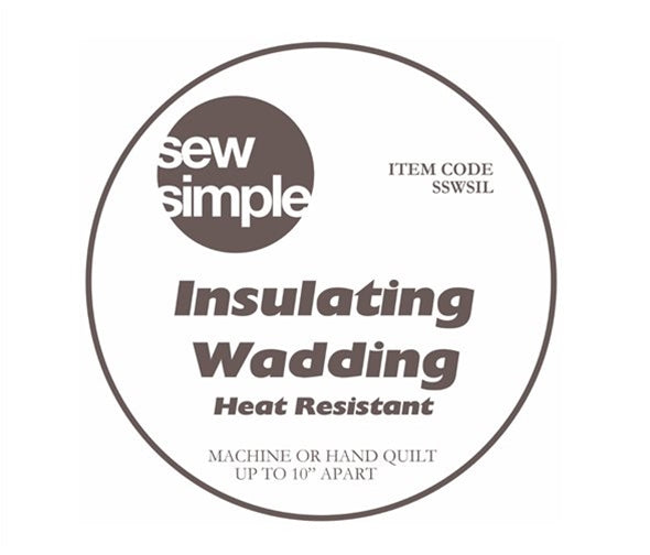 Wadding - Insulated