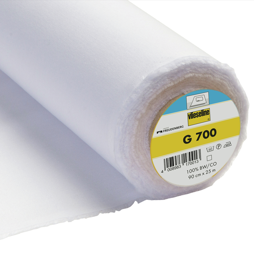 Interfacing - G700 Iron on Woven - White