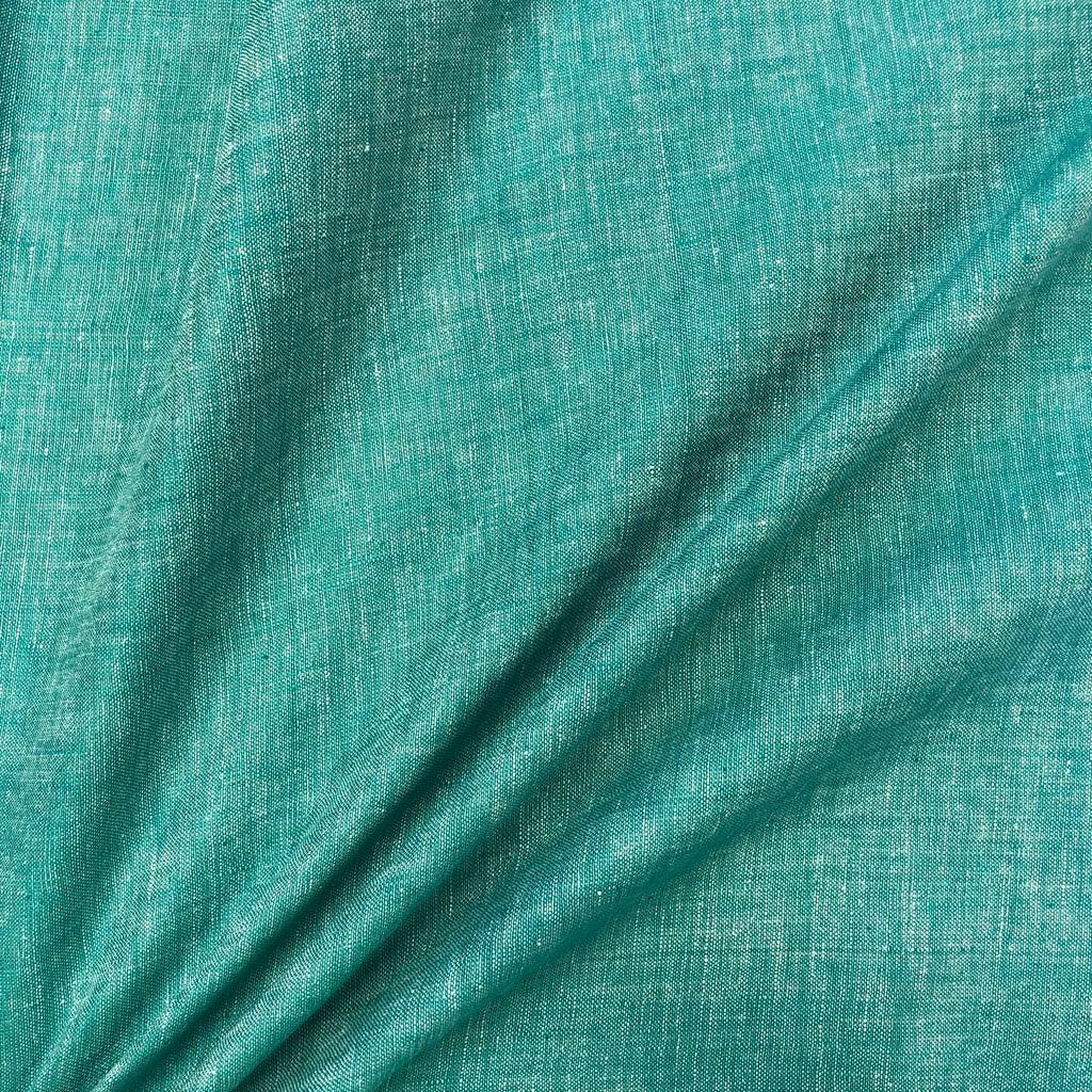 *NEW* Stonewashed Linen - Aqua