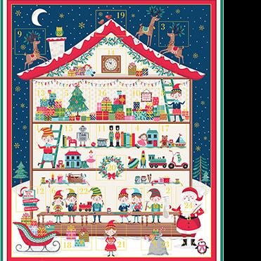 *NEW* Let It Snow - Advent Calendar Panel