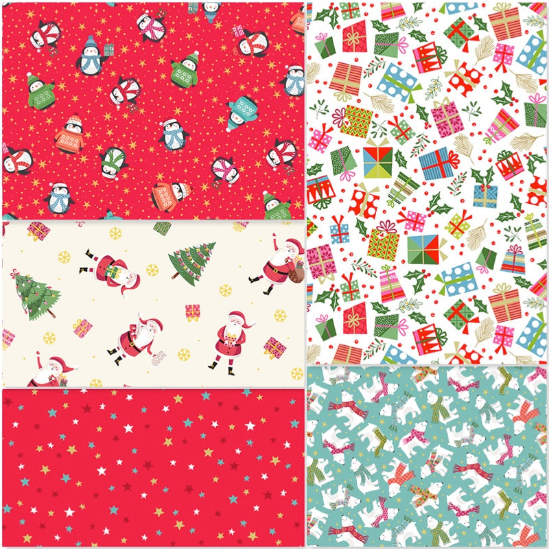 *NEW* Let It Snow - Fat Quarter Pack (5)