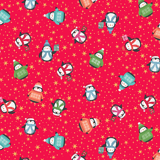 *NEW* Let It Snow - Penguins - Red