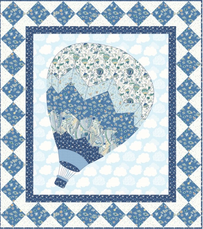 Adventures in the Sky - Quilt Kit