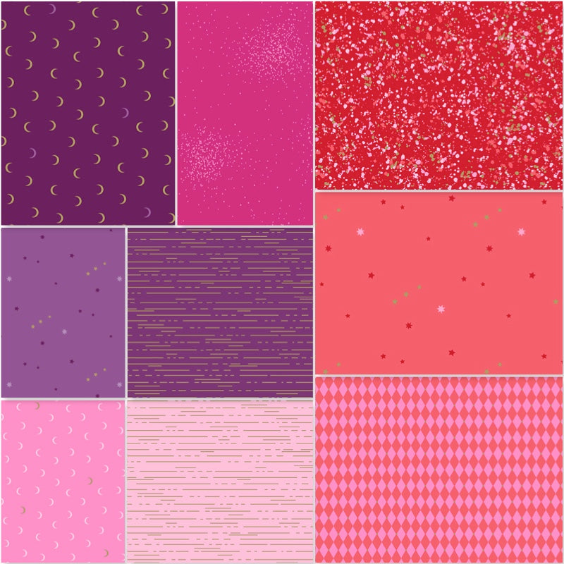 *NEW* Libs Elliot - Fat Quarter Pack - Warm (9)
