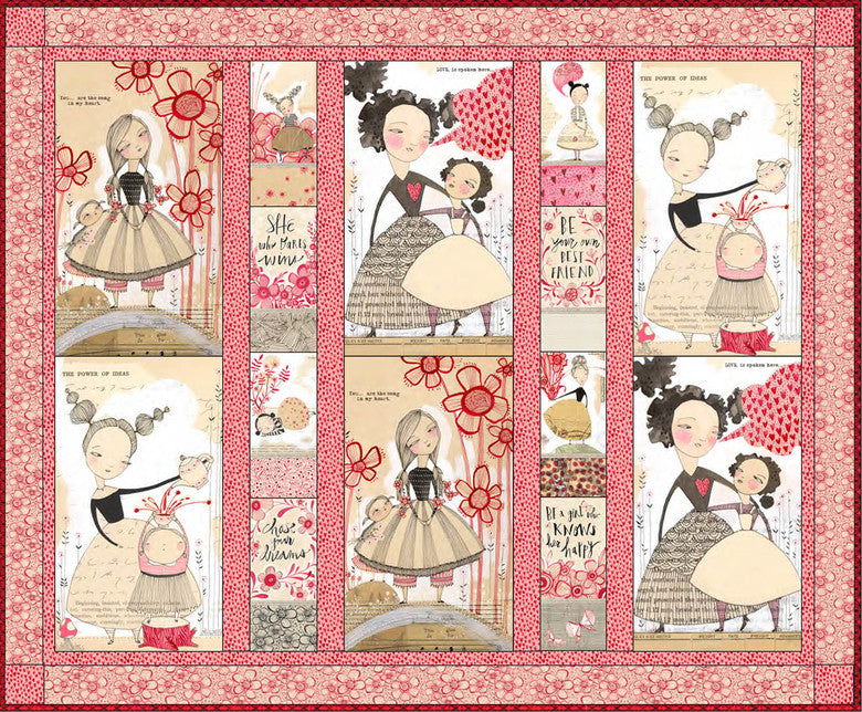 *NEW* - Love Is Spoken - Quilt Kit