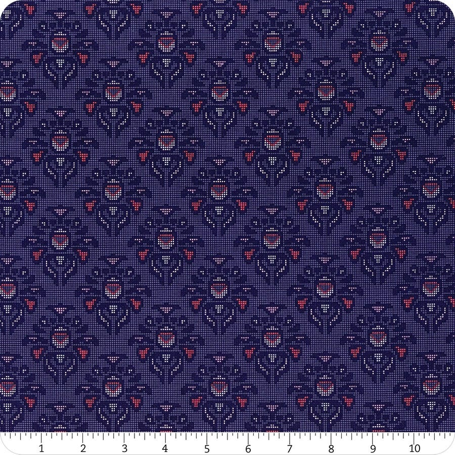 *NEW* Riley Blake Midnight Rose - Fat Quarter Pack - Navy (7)