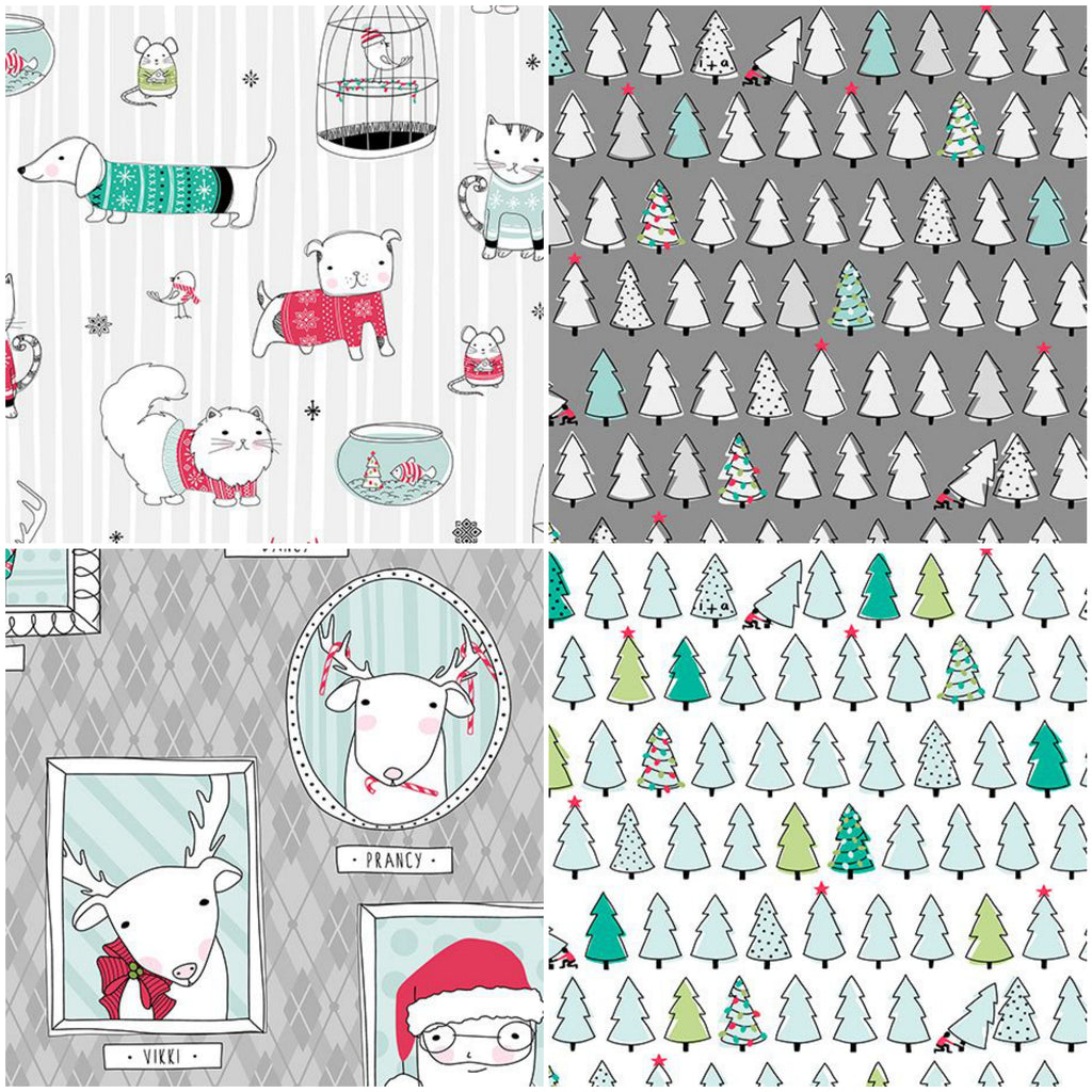 Mingle & Gingle - Fat Quarter Pack (4)
