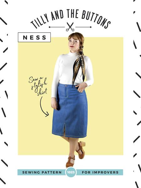 *NEW* Tilly and the Buttons - Ness Skirt