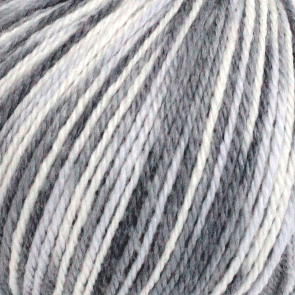 New Zealand Print - Aran - Multi Grey & Cream (50)