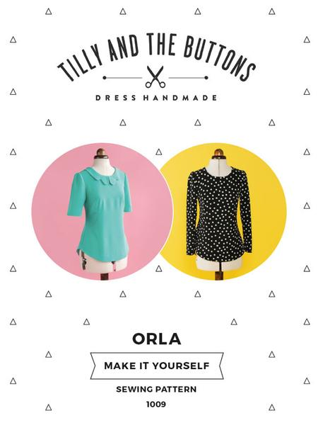 Tilly and the Buttons - Orla top