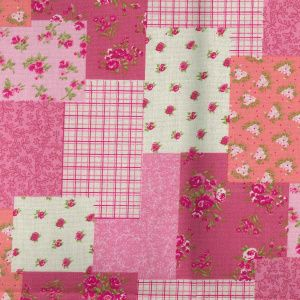 Overlap Patchwork - Pink