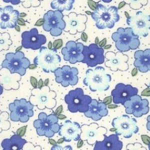 Pansies - Blue