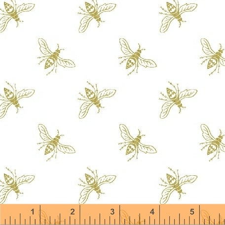 *NEW* Precious Metal Nature - Bees - Gold Metallic