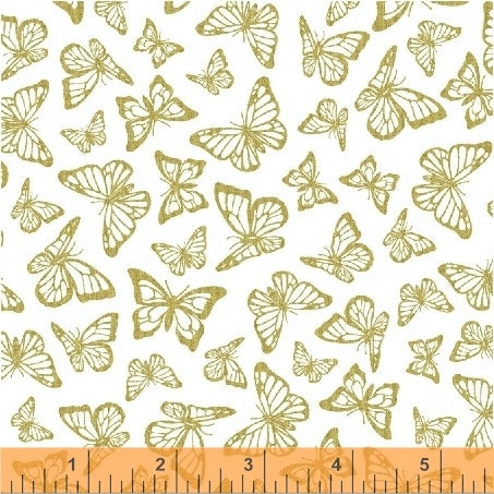*NEW* Precious Metal Nature - Butterflies - Gold Metallic