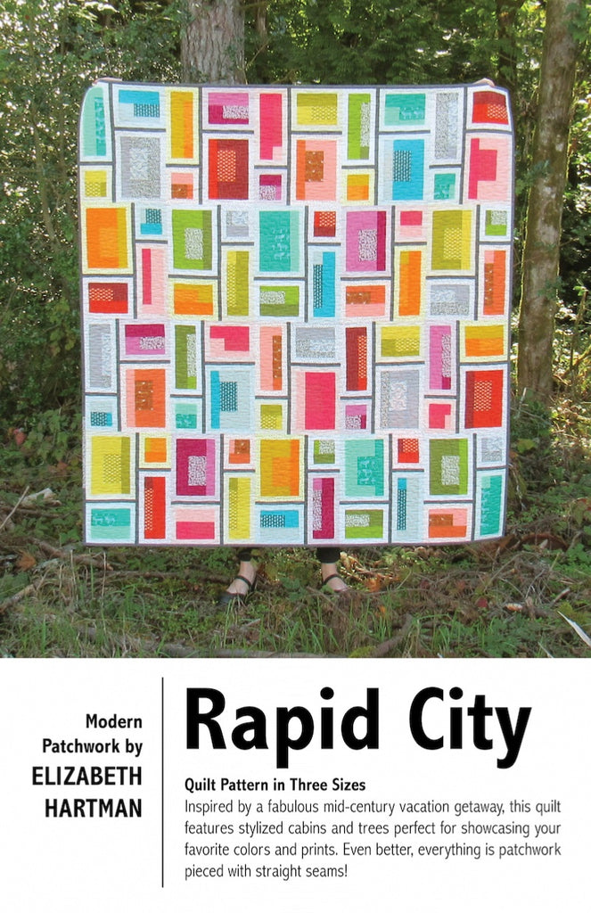 *NEW* Elizabeth Hartman - Rapid City - Quilt Pattern