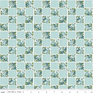 Dainty Darling - Square - Aqua