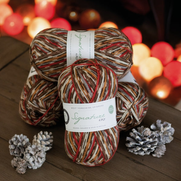 Signature 4ply - Robin *Limited Edition Christmas Yarn*