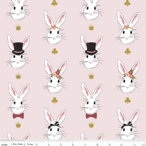 Wonderland 2 - Main Rabbits - Pink Sparkle