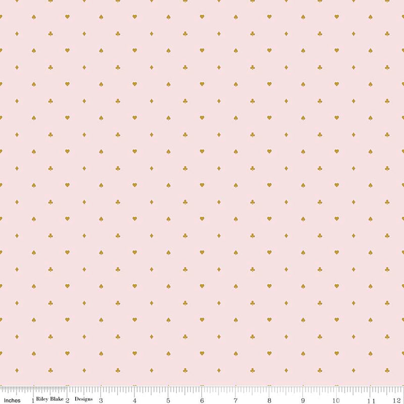 Riley Blake Wonderland 2 - Cards - Pink Sparkle