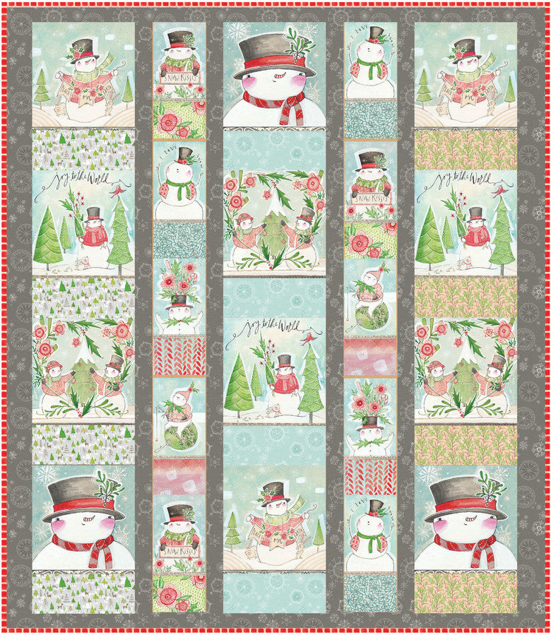 Snow Fun - Quilt Kit