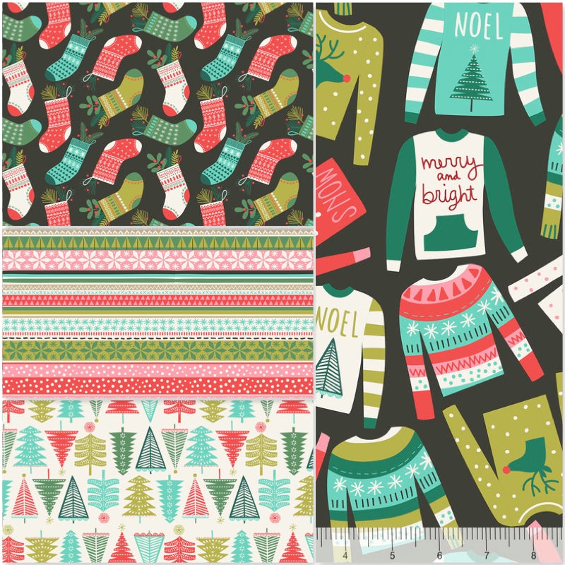*NEW* Snugly Sweaters - Fat Quarter Pack (4)