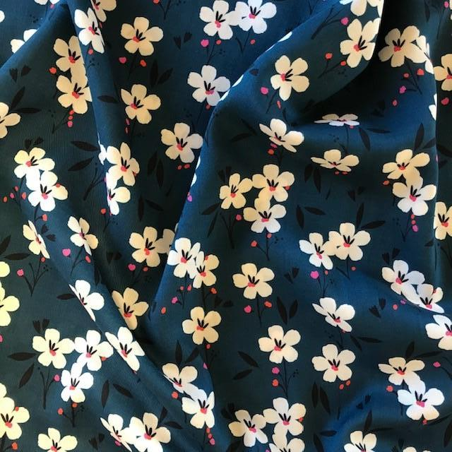 Soiree - Spring - Blue - Rayon