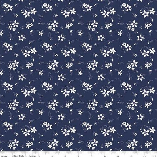 Something Borrowed - Flower - Navy