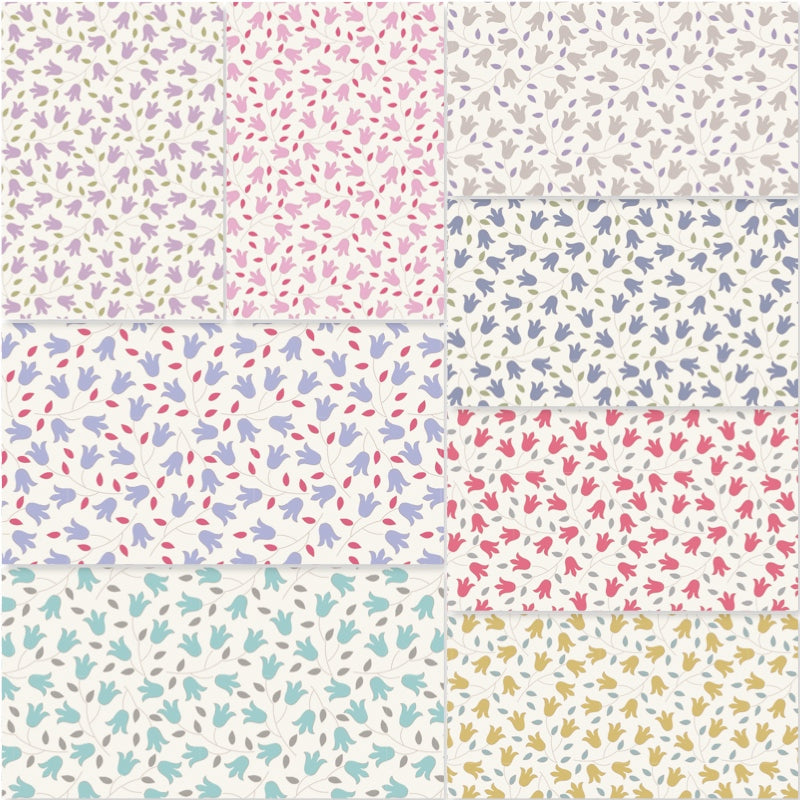 Tilda Sophie Basics - Fat Quarter Pack (8)