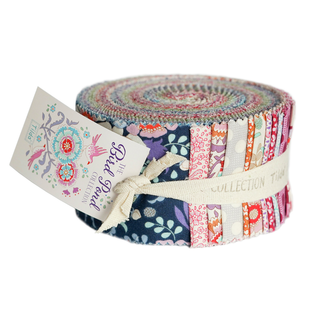 *NEW* Tilda Bird Pond - Jelly Roll (40)