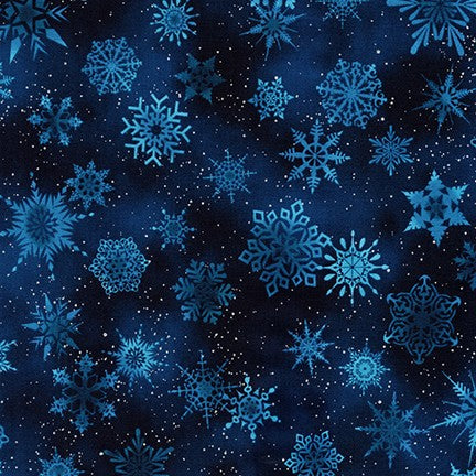 *NEW* Winter's Grandeur Metallic 7 - Snowflake