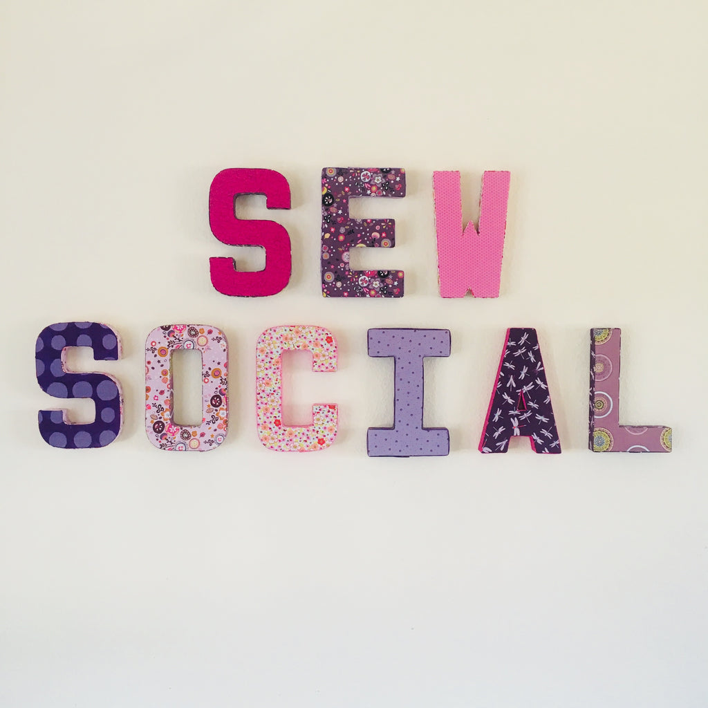 Sew Social - Tuesday Night Group (6 weeks - November/December Term)
