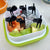 6Pc Cute Mini Cat Forks Set