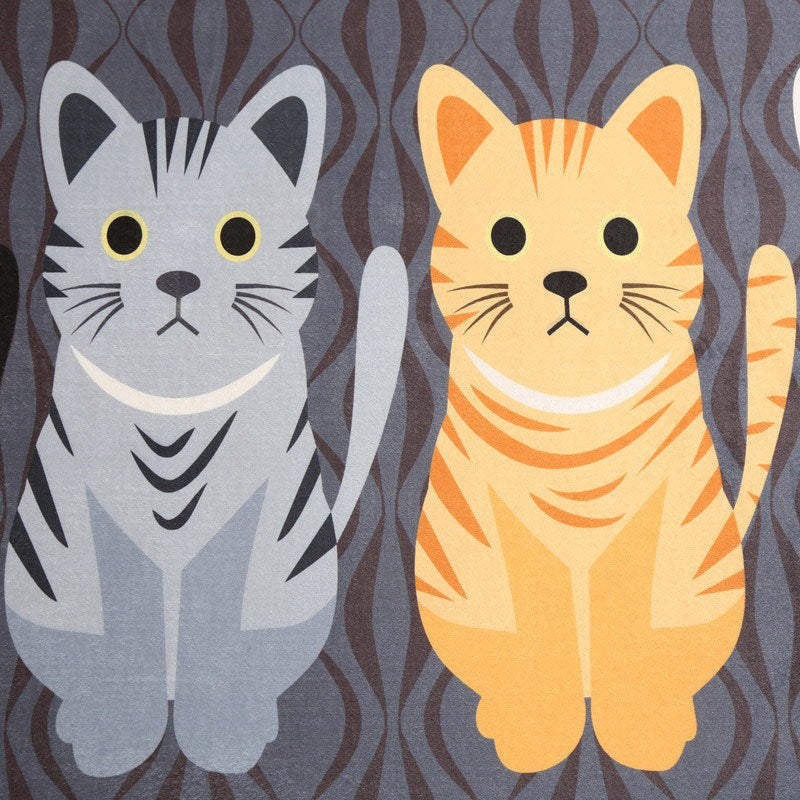 Cat Family Anti-Slip Floor Mats