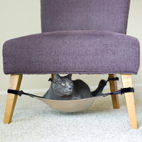 A space-saving cat hammock your feline will love!